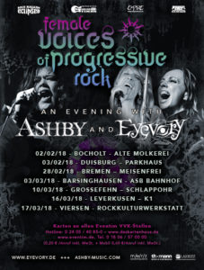 Ashby Eyevory Tour Flyer